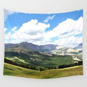 Wall Tapestry Colorado Mountains